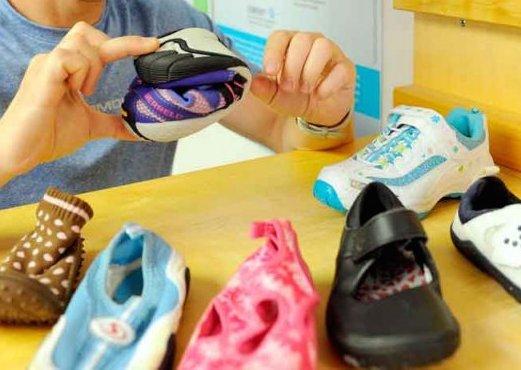 Chaussures pour enfants: la simplicité avant tout