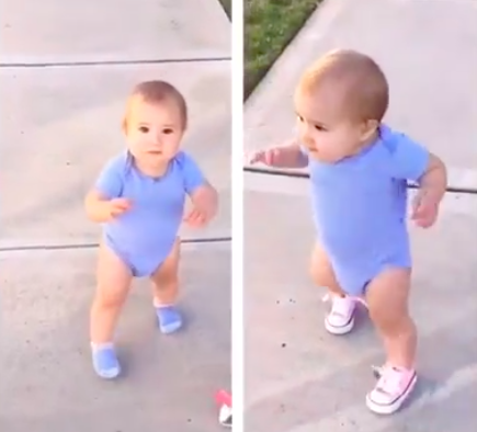 Apprendre à marcher : avec ou sans chaussures ?